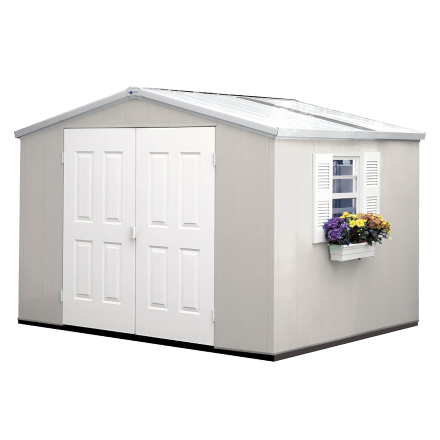 houses garden wide vinyl vision shed roof sheds x pool hip wall storage ft