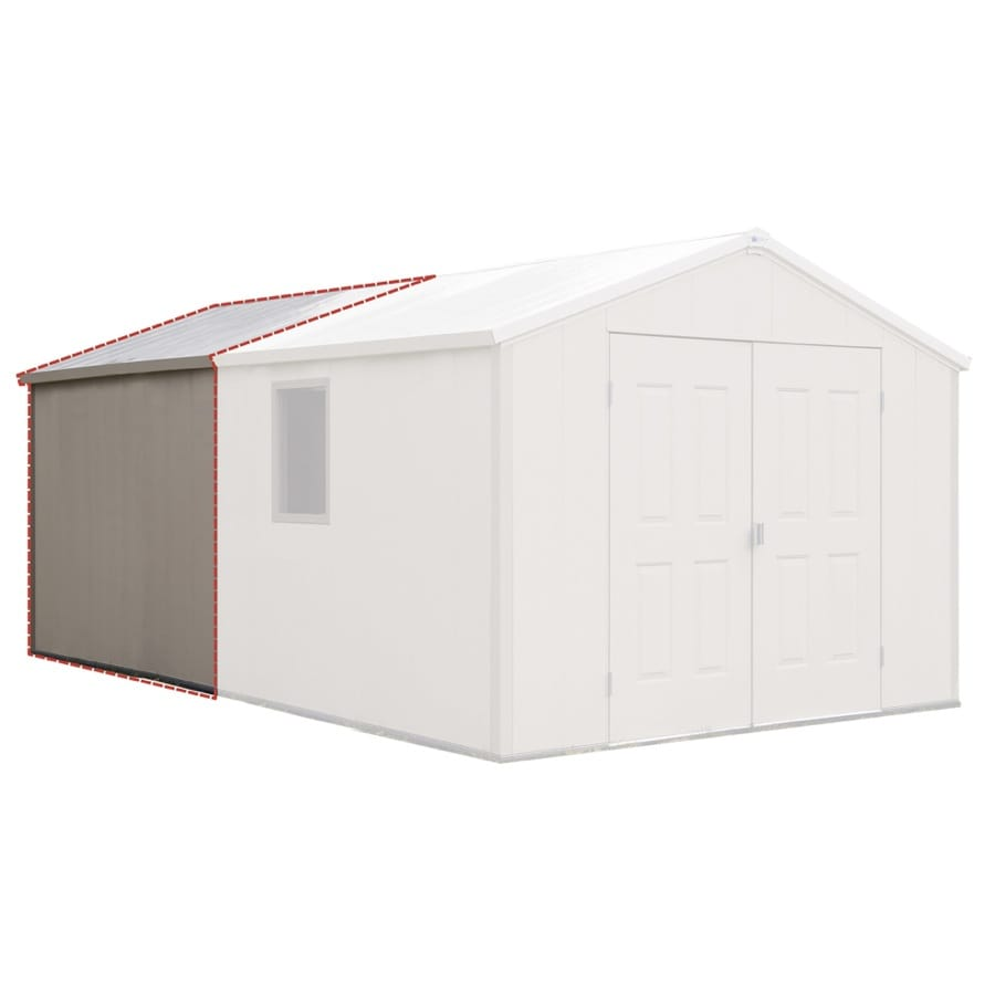 Royal Outdoor Products 7ft Asheville Storage Building Extension Kit