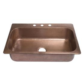 Copper Kitchen Sinks at Lowes.com on copper sink 33x22 drop in, copper kitchen cabinets, copper kitchen sinks top mount, copper sink stainless appliances, copper pedestal sink, copper kitchen splashbacks, copper kitchen sinks stainless, copper bathroom sinks, copper bar sinks, copper kitchen sinks at home depot, copper kitchen farm sink, copper sink with faucet, copper light fixtures for kitchen, copper sinks direct, copper sinks are good, copper kitchen wall, copper farmhouse sink, copper kitchen faucets, copper sink in kitchen, copper vessel sink,