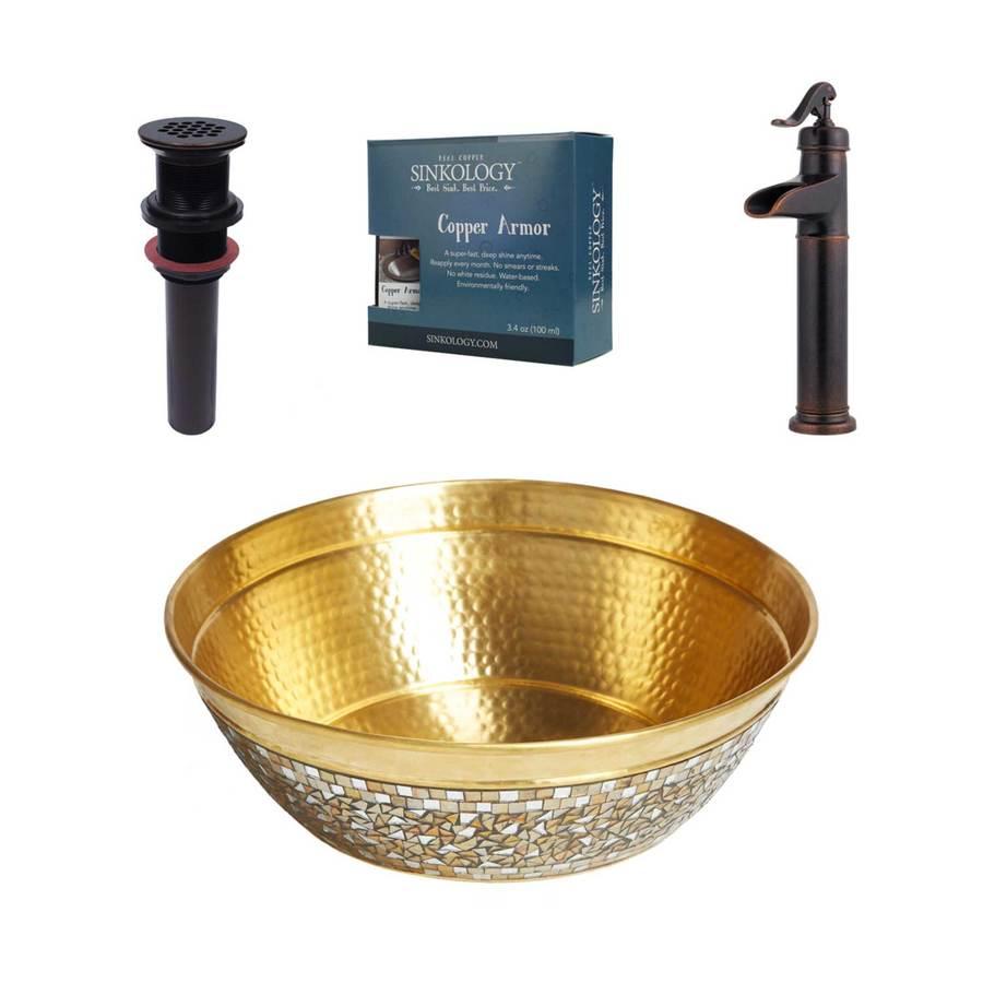 Champagne Bathroom Sink