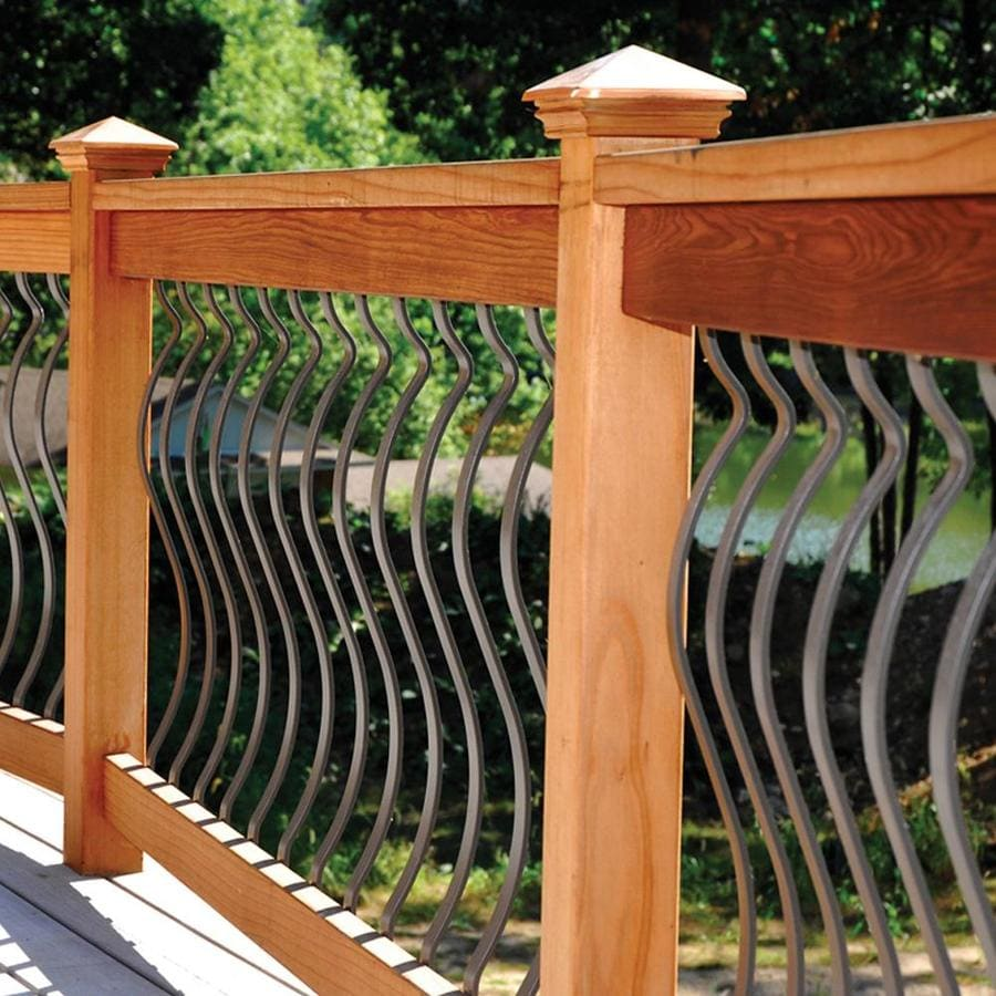 Deckorators (Common:; Actual: 0.197-in x 1-in x 32.25-in) Bronze Aluminum Deck Baluster