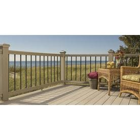 Deckorators (Common: 3/4-in x 3/4-in x 32-in; Actual: 0.75-in x 32-in) 10-pack Black Aluminum Deck Baluster