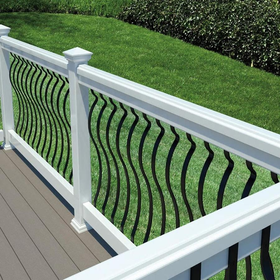 Deckorators (Actual: 0.25-in x 1-in x 40-in) Aluminum Deck Baluster