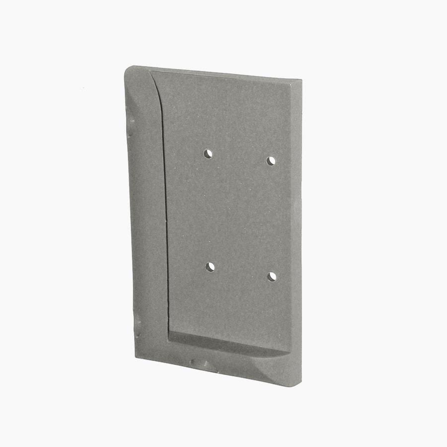 Deckorators Gray Plastic Post Connector