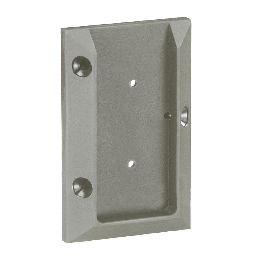Deckorators Gray Plastic Post Connector
