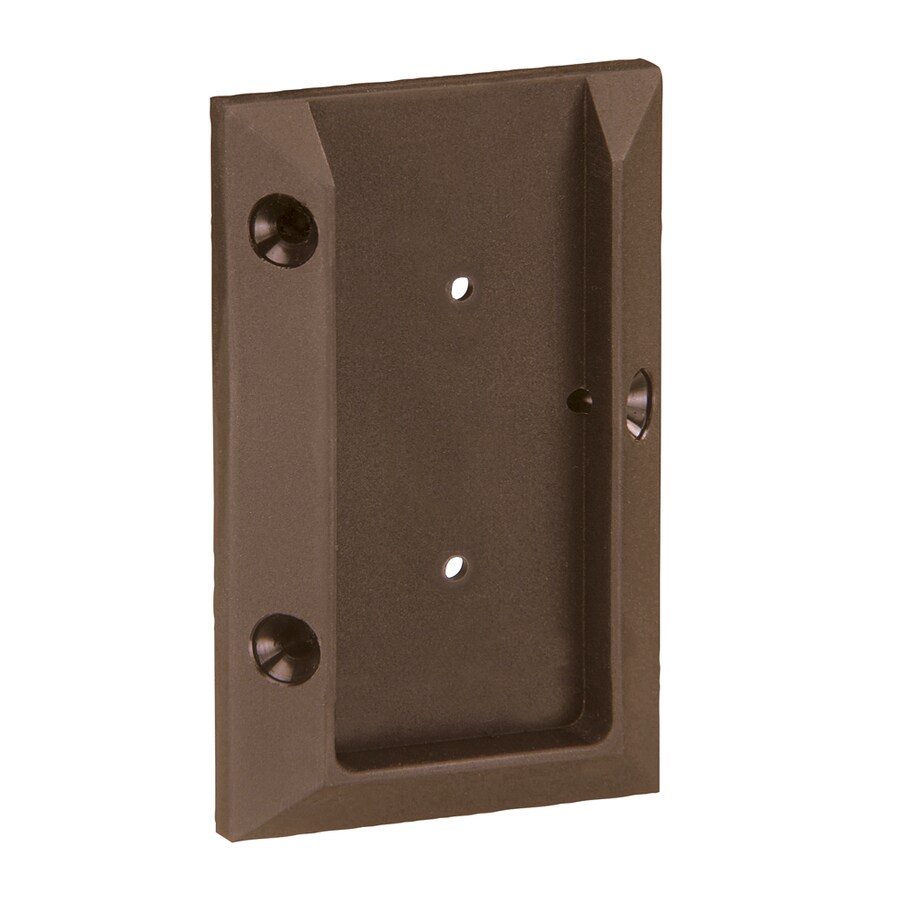 Deckorators Mahogany Plastic Post Connector