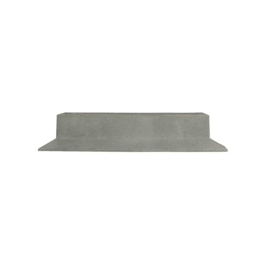 Deckorators Gray Plastic Baluster Connector