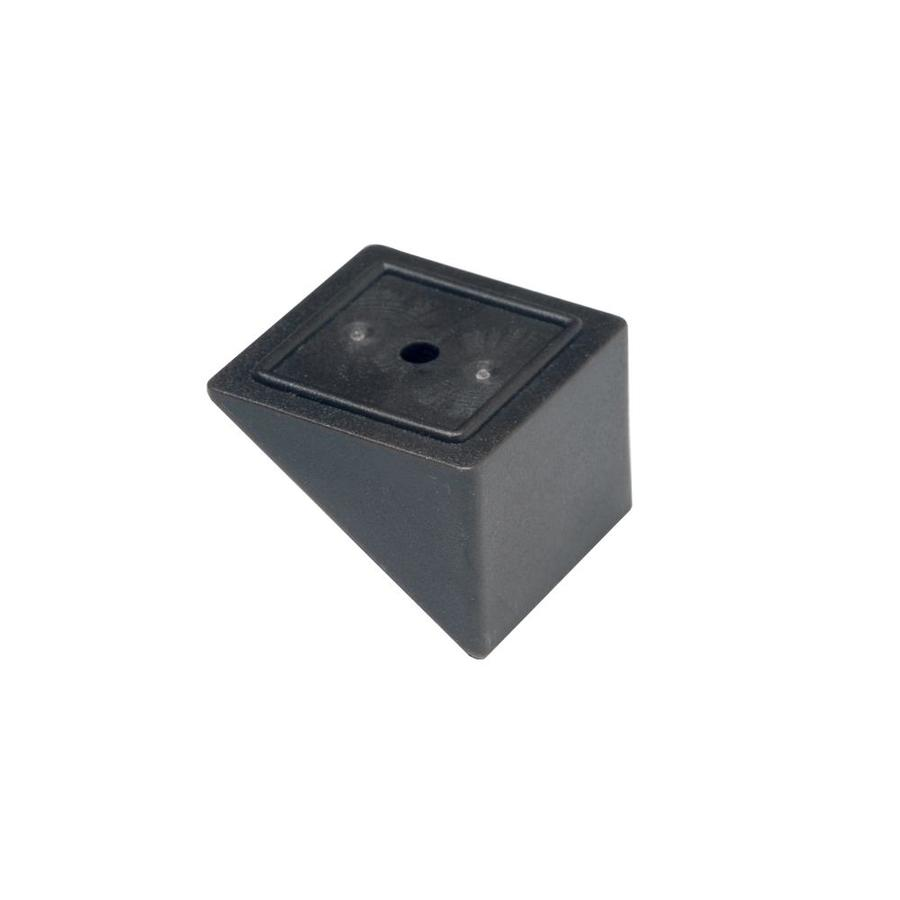 Deckorators Black Plastic Baluster Stair Connector