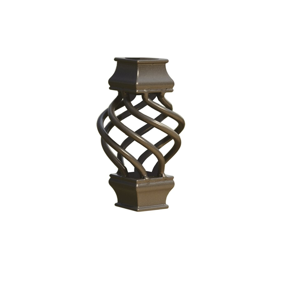 Deckorators Estate Bronze Aluminum Deck Baluster Basket
