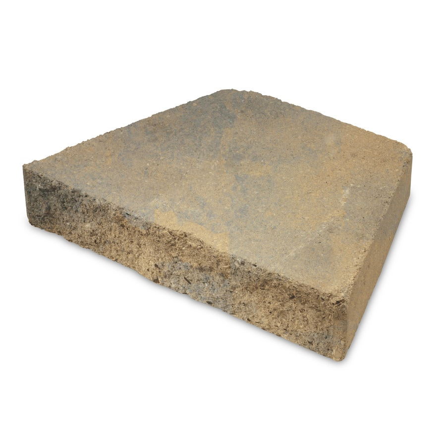 Tan Brown Retaining Wall Cap (Common: 9-in x 12-in; Actual: 8.2-in x 12-in)