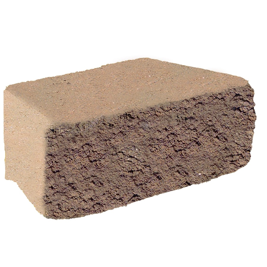 Walnut Retaining Wall Block (Common: 7-in x 12-in; Actual: 8.5-in x 11.7-in)
