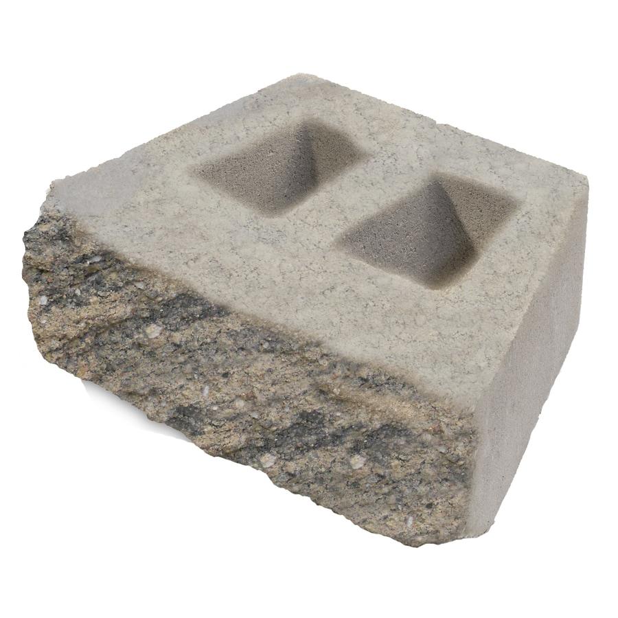 Tan/Brown Retaining Wall Block (Common: 16-in x 16-in; Actual: 11-in x 16-in)