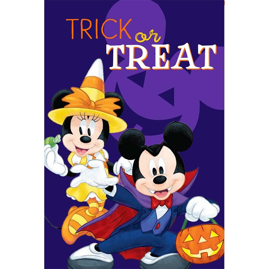 Disney Mickey & Minnie HAW Flag W/Stand