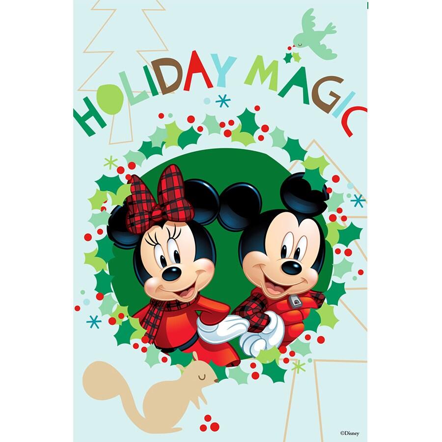 Disney Disney Holiday Magic Flag W/Stand