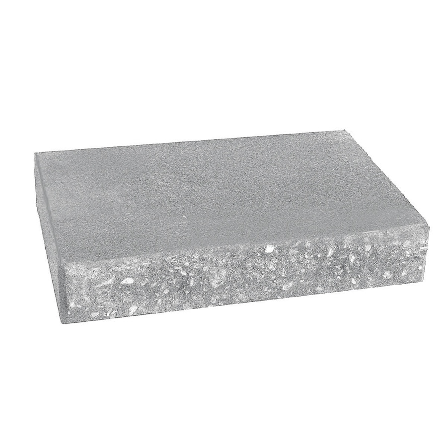 Country Stone Gray Retaining Wall Cap (Common: 2-in x 12-in; Actual: 2-in x 12-in)