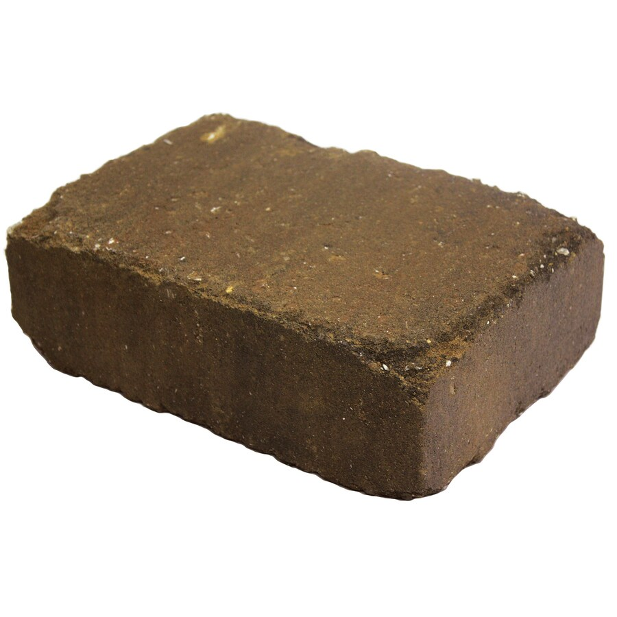 Country Stone Autumn Blend Retaining Wall Block Common 4 In X 12 In Actual 3 7 In X 11 2 In