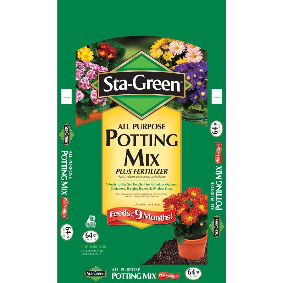 Sta-Green 64-Quart Potting Soil