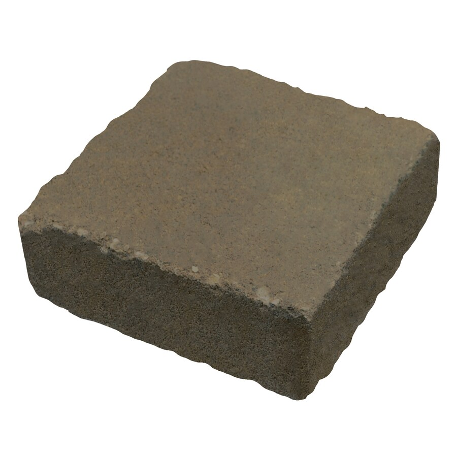 Country Stone Tan/Black Paver (Common: 6-in x 6-in; Actual: 5.8-in x 5.8-in)