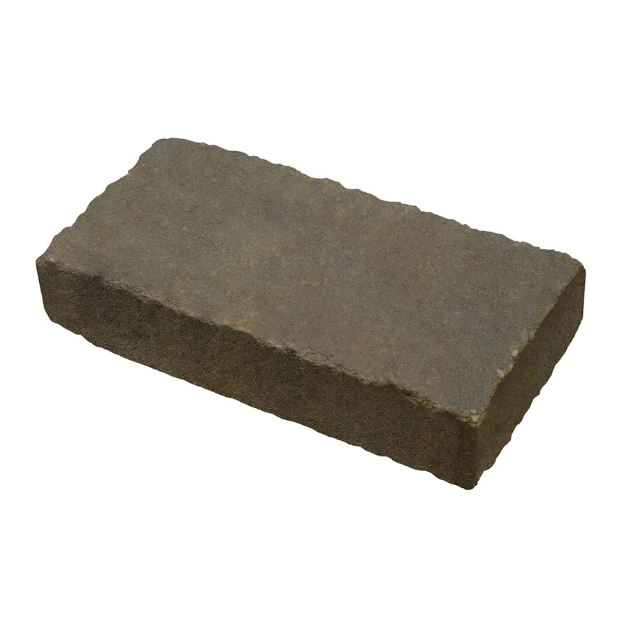 Country Stone Tan/Black Paver (Common: 12-in x 6-in; Actual: 11.7-in x 5.8-in)