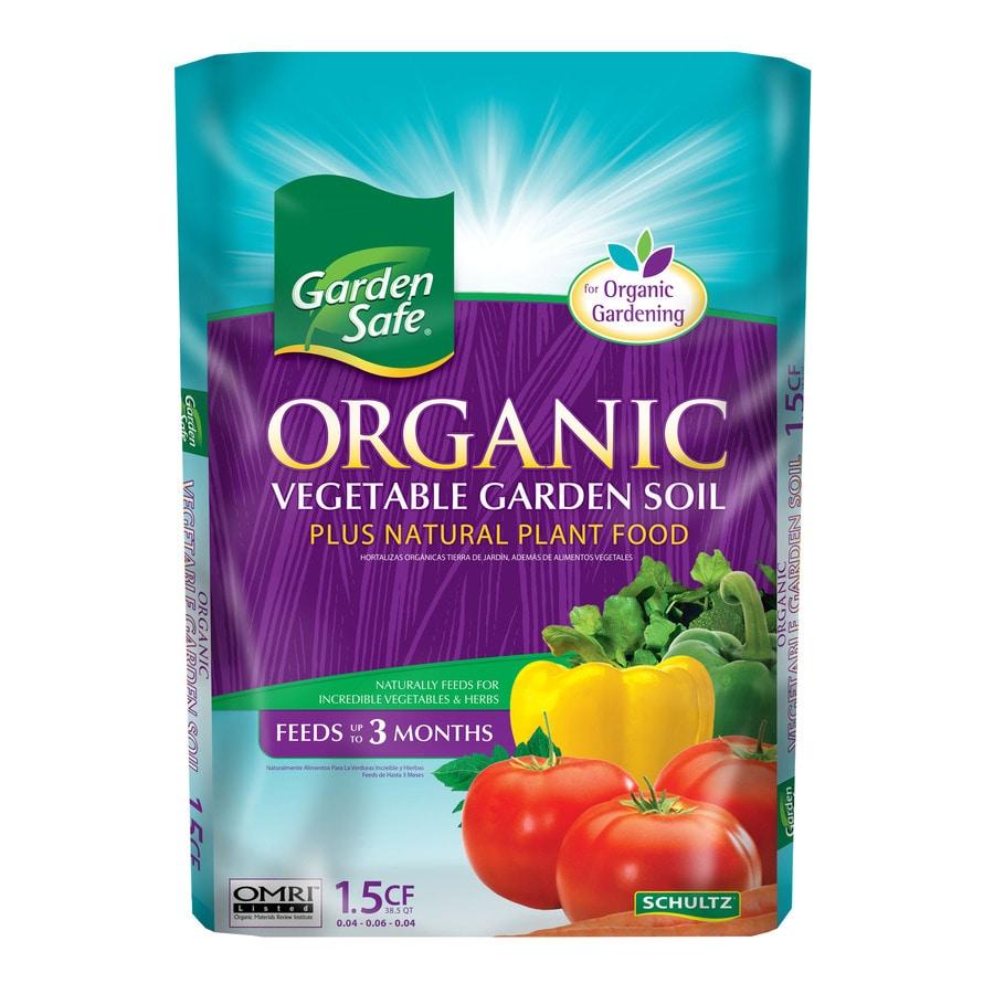 Garden Safe 1.5-cu ft Organic Flower and Vegetable Garden Soil