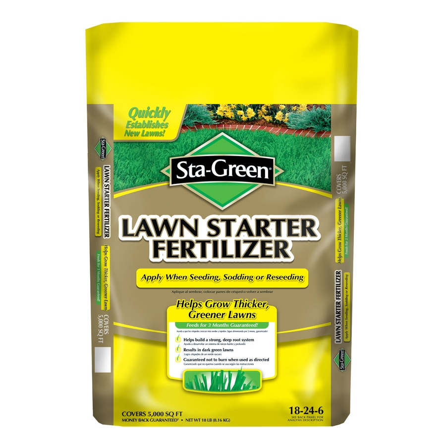 Sta Green 5m Lawn Starter Fertilizer 18 24 6