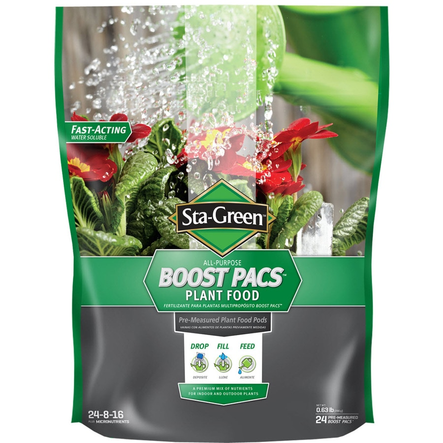 Sta-Green Boost Pac 24-Count Flower and Vegetable Food (24-8-16)