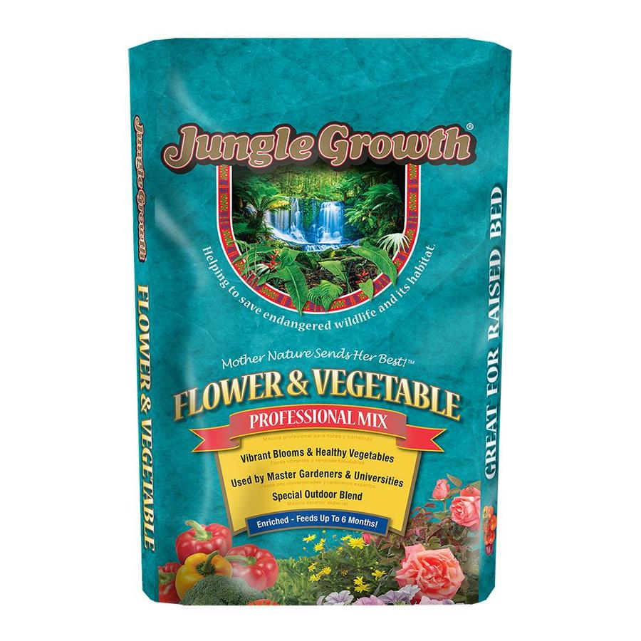 Shop 2 cu ft flower and vegetable garden soil at for Vegetable garden fertilizer