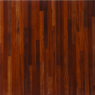 Porcelanite Red Glazed Ceramic Wood Look Floor Tile At Lowes Com