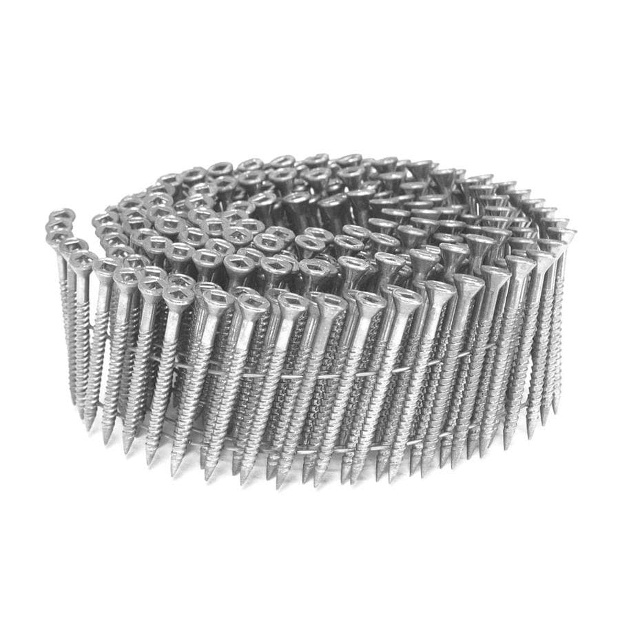 Scrail 2,000-Count #0 x 3-in Coated Standard Square-Drive Interior/Exterior Wood Screw