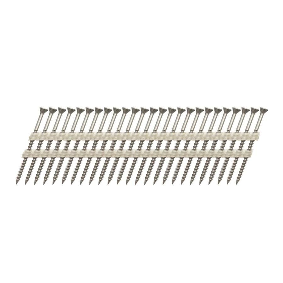 Scrail 1,000-Count #0 x 2.5-in Flat-Head Coated Phillips-Drive Interior/Exterior Wood Screws