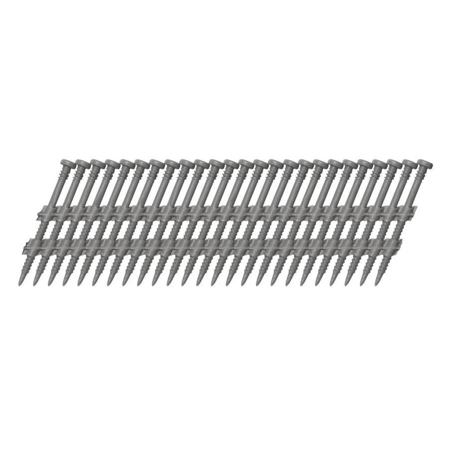 Scrail 1000-Count #0 x 2-in Square-Head Painted Gray Square-Drive Interior/Exterior Wood Screws
