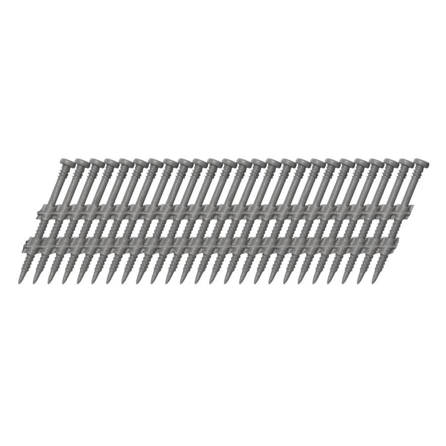 Scrail 1,000-Count #0 x 3-in Electro-Galvanized Standard Square-Drive Interior/Exterior Wood Screw