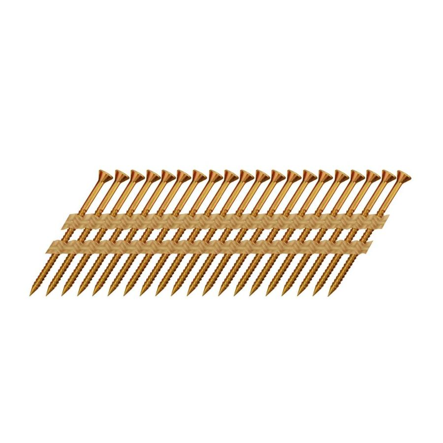 Scrail 1000-Count #0 x 2.5-in Square-Head Electro-Galvanized Square-Drive Interior/Exterior Wood Screws