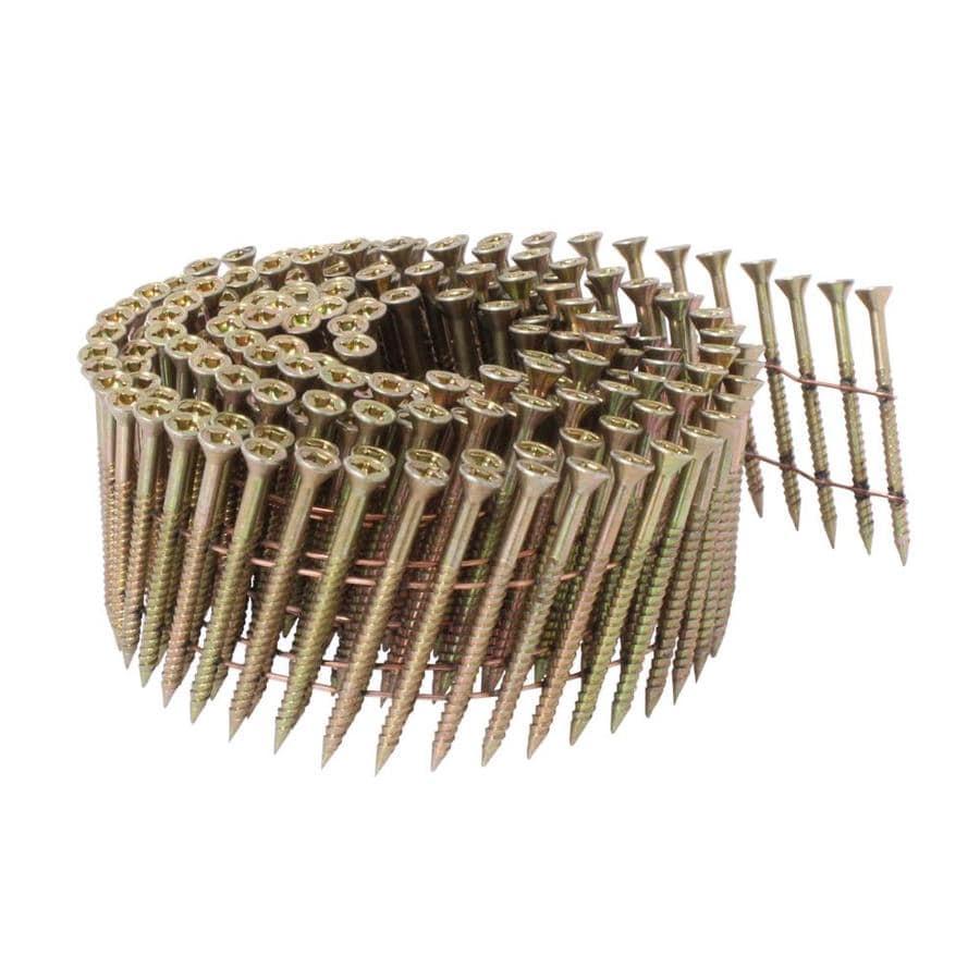 Scrail 2000-Count #0 x 2-in Flat-Head Electro-Galvanized Interior/Exterior Wood Screws
