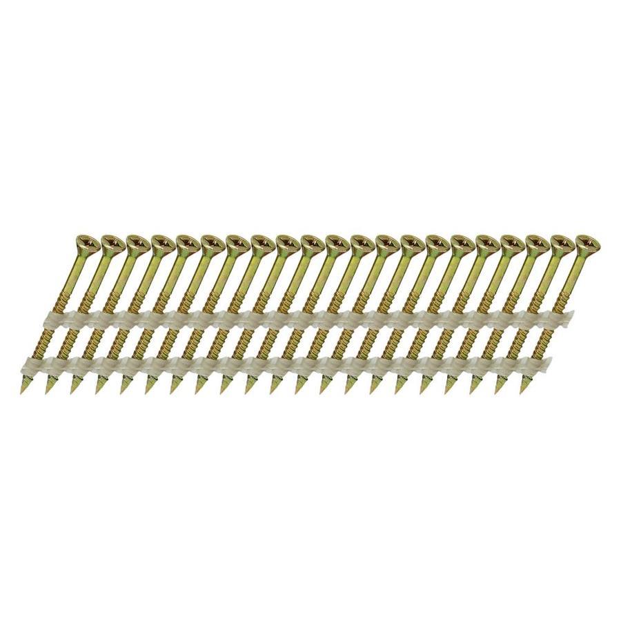 Scrail 1000-Count #0 x 3-in Flat-Head Electro-Galvanized Interior/Exterior Wood Screws