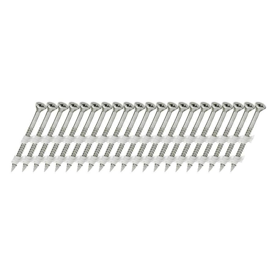 Scrail 1000-Count #0 x 3-in Flat-Head Stainless Steel Interior/Exterior Wood Screws