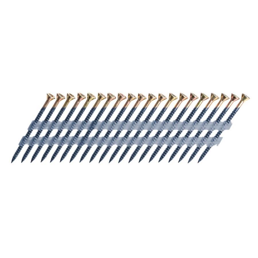 Scrail 1000-Count #0 x 2.25-in Flat-Head Electro-Galvanized Interior/Exterior Wood Screws