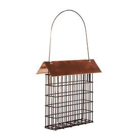 Wood Link Top Single Suet Cage