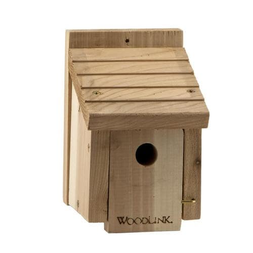 Woodlink 8 In H Tan Wood Wren Nesting Box Bird House In The Bird Houses Department At Lowes Com