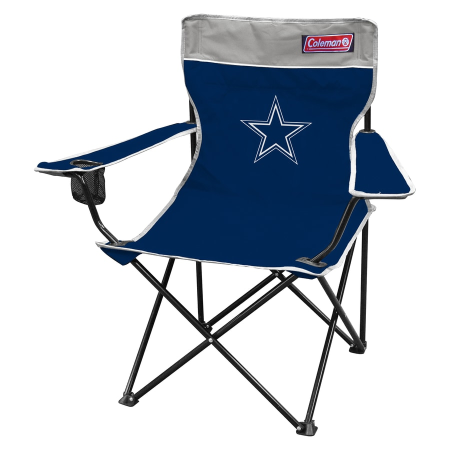 Coleman Indoor/Outdoor Steel Dallas Cowboys Standard Folding Chair
