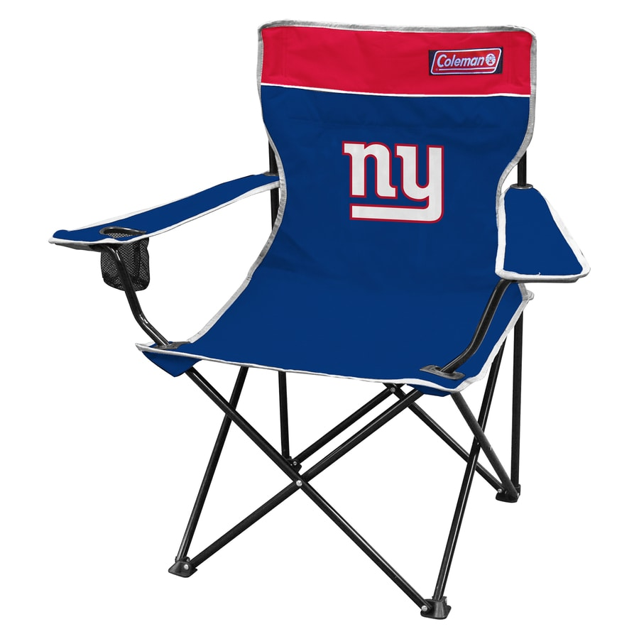 Fabulous Coleman Indoor Outdoor Steel New York Giants Standard Ocoug Best Dining Table And Chair Ideas Images Ocougorg