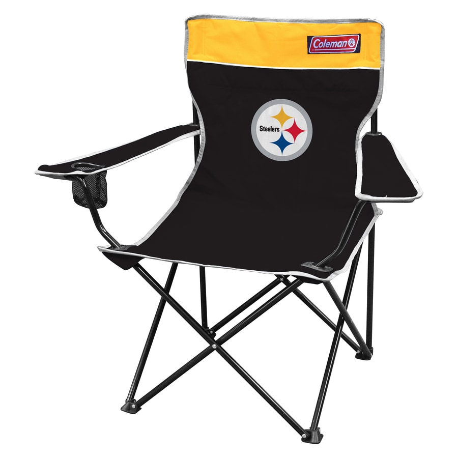 Coleman Indoor/Outdoor Steel Pittsburgh Steelers Standard Folding Chair