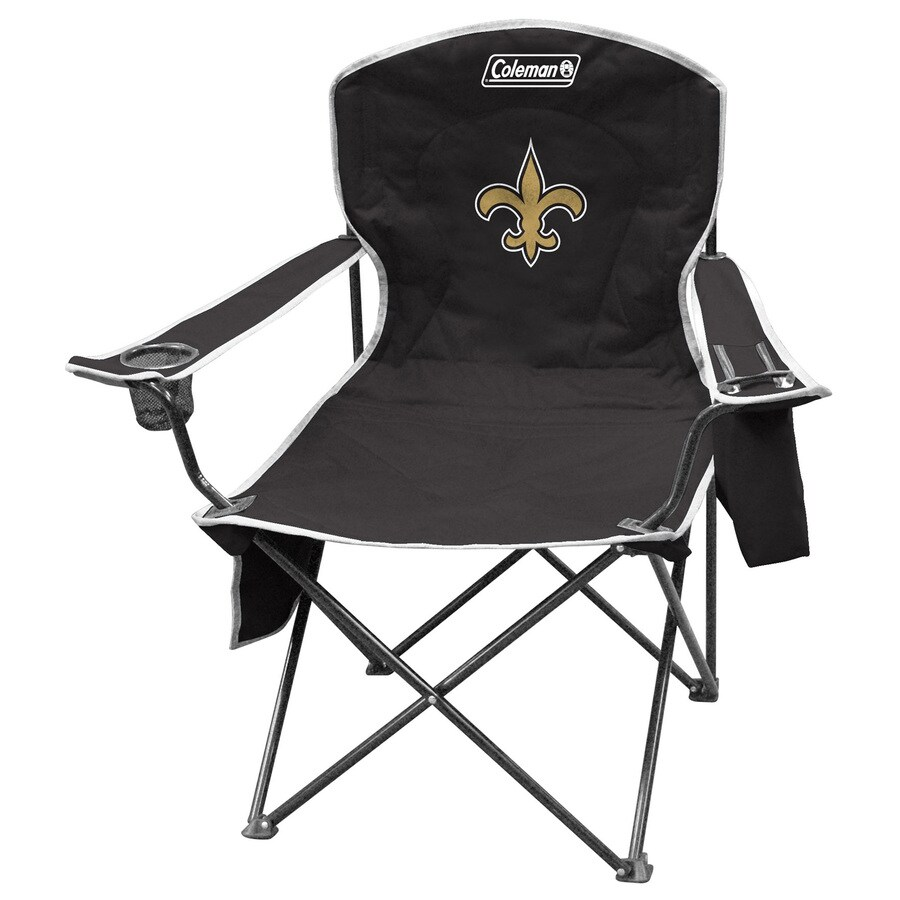 Coleman NFL New Orleans Saints Steel Chair