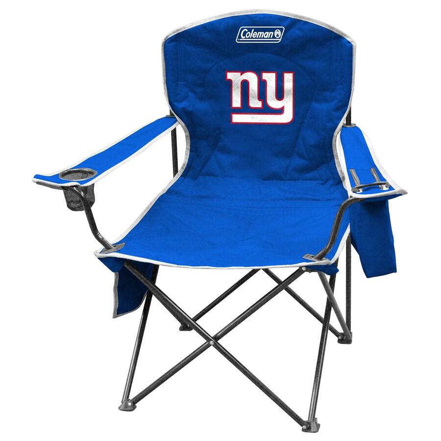 Coleman NFL New York Giants Steel Chair