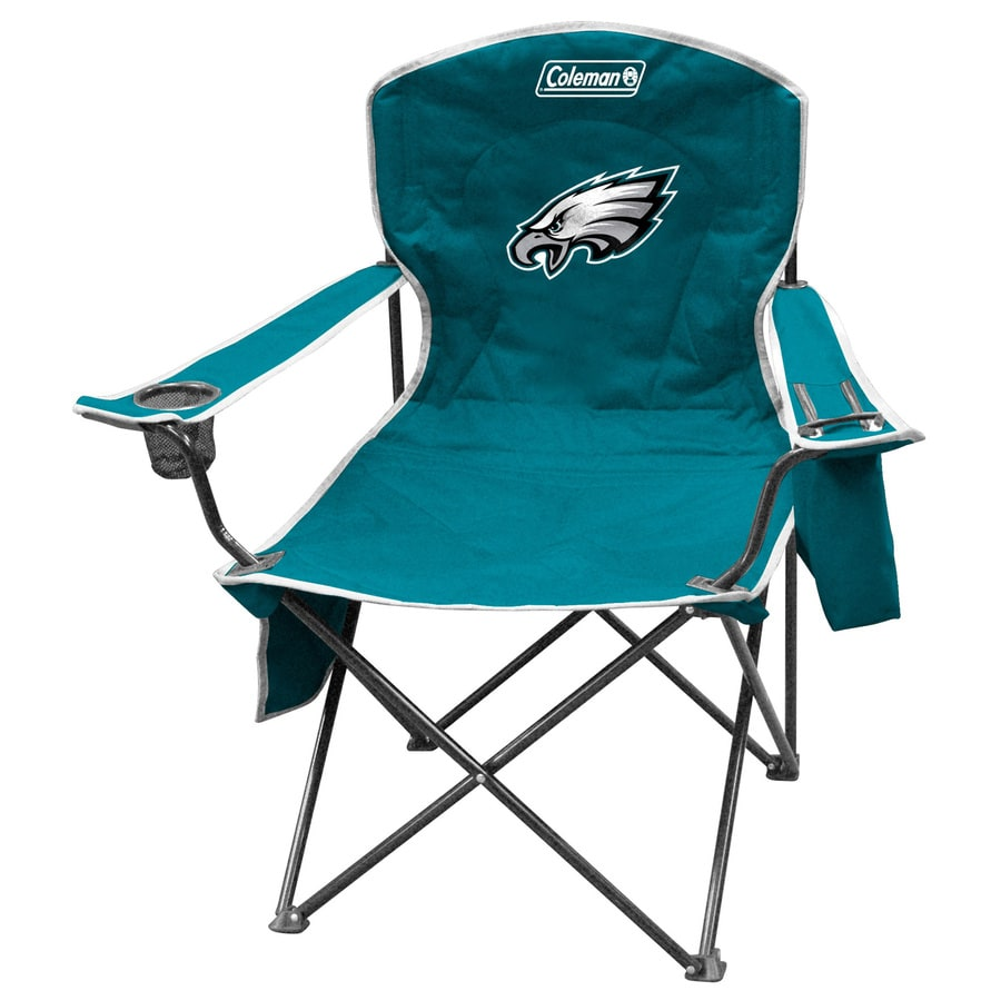 Shop Coleman Nfl Philadelphia Eagles Steel Chair At Lowes Com