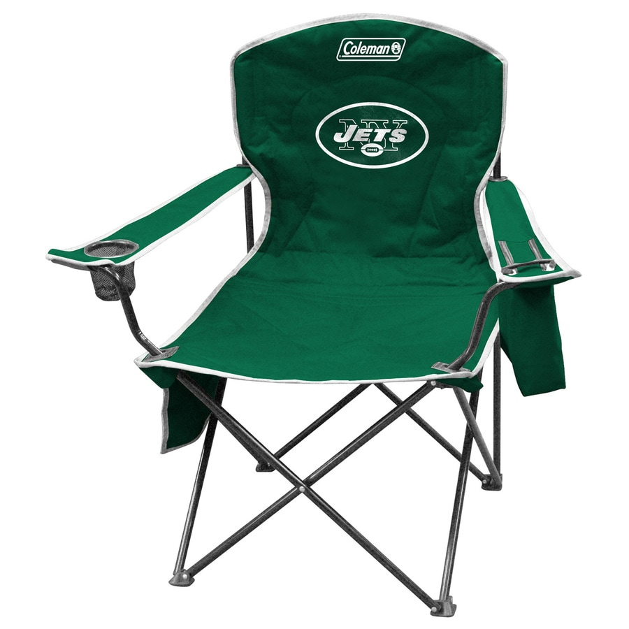 Coleman NFL New York Jets Steel Chair