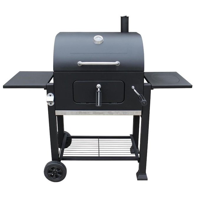 Landmann Usa 23 In Black Barrel Charcoal Grill In The Charcoal Grills Department At Lowes Com