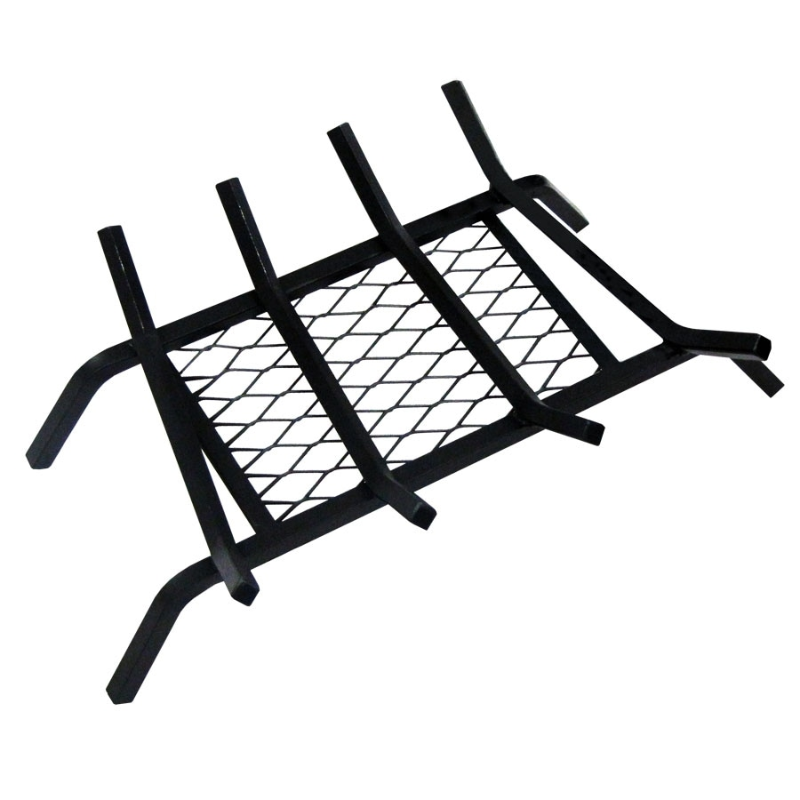 Shop Landmann USA 1/2-in Steel 18-in 4-Bar Fireplace Grate with ...