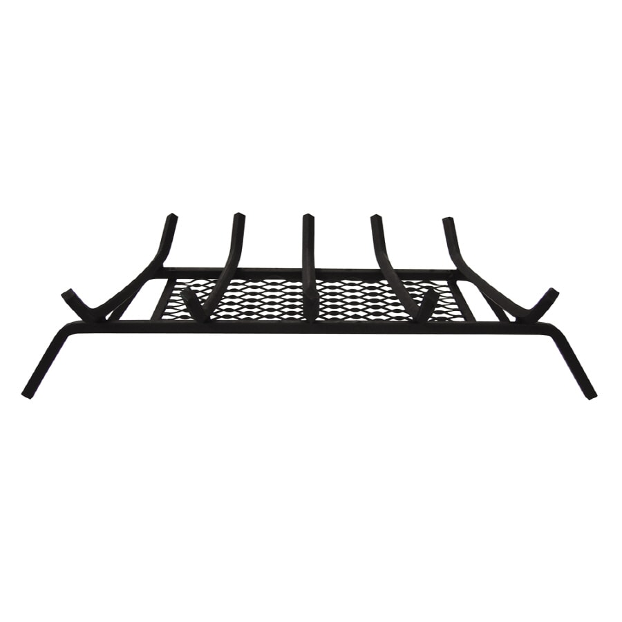 Landmann USA 1/2-in Steel 27-in 5-Bar Fireplace Grate with Ember Retainer