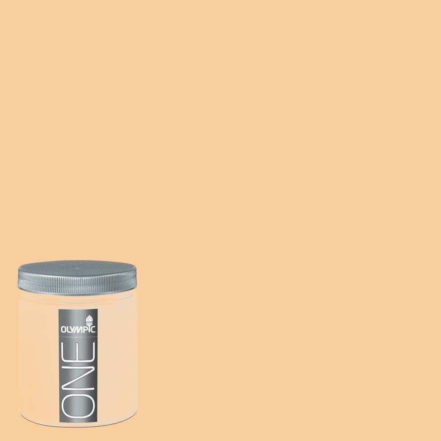 Olympic 8-oz Honey Butter Interior Satin Paint Sample